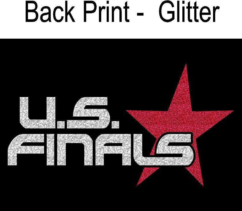 Back Print GLITTER