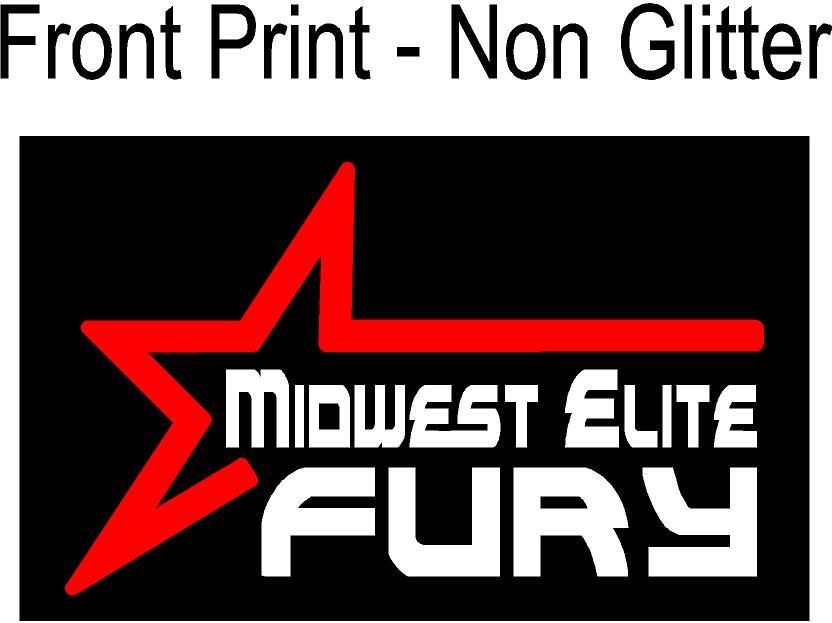 Front Print Non Glitter