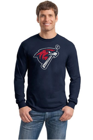 Hawks Long Sleeve Glitter thumb